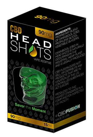 CBD HeadShots Additive/Tincture 90mg | Tinctures from CBD Fusion