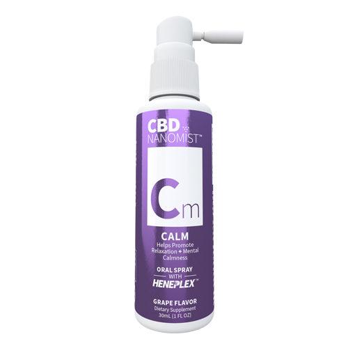 CBDNanomist Calm | Monarch Quality Tinctures | Monarch inhalers