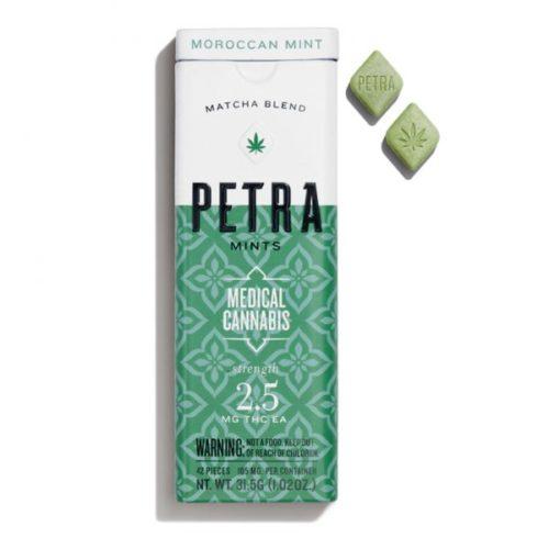 Kiva Petra Mints - Petra Mints - Moroccan Mint (100mg THC)