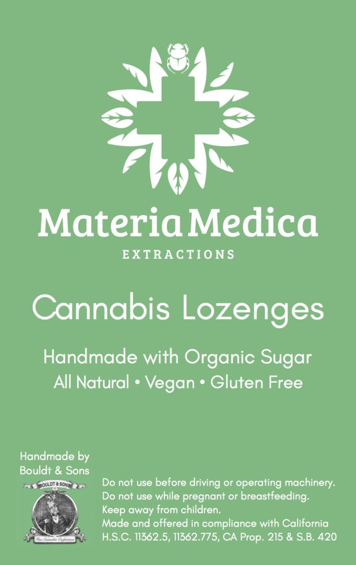 Mixed Berry Cannabis Lozenges 100 mg THC/100 mg CBD Package