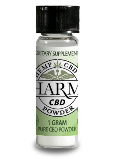 Hemp CBD Pure Concentrated Powder - Misty Canna Shop